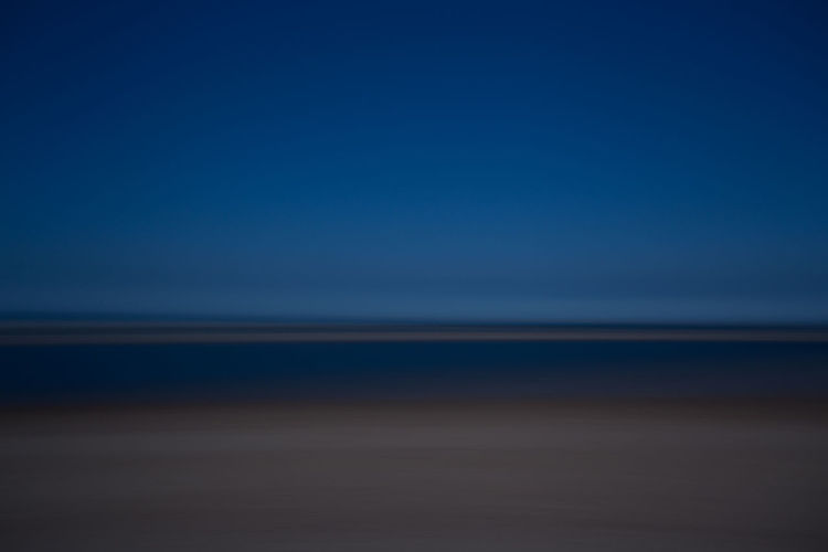 Abstract photograph of the beach, sea nd sky on Wells Beach, Norfolk, England Blurred Sunny Wells-next-the-Sea Abstract Beach Beauty In Nature Blue Blur Clear Sky Copy Space Day Horizon Horizon Over Water Land Movement Nature No People Outdoors Scenics - Nature Sea Sky Summer Tranquil Scene Tranquility Water