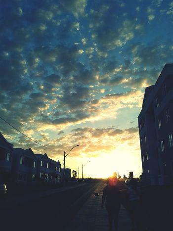 Sky Sunset Hello World Enjoying Life