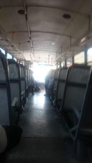 Vehicle Seat No People Day Sunlight Xperiagraphy XPERIA Comarca Lagunera Transportation Poor Bus Bus