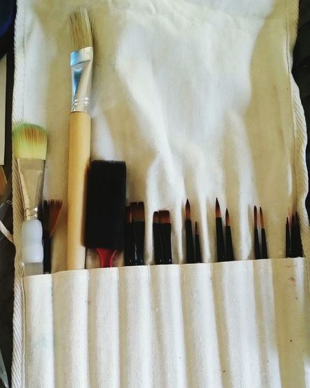 Tools. Tools Tools Of The Trade Toolkit Art Art Tools Painting Paint Brushes Paint Brush Roll I Use These Learn & Shoot: Balancing Elements Beautiful Art, Drawing, Creativity Artist