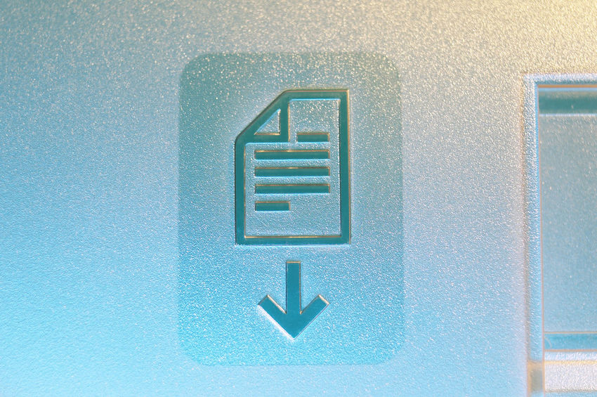document face down Fax Arrow Symbol Blue Close-up Communication Direction Document Fax Machine Indoors  No People Outdated Outdated Tech Pattern Single Object Symbol Text Textured