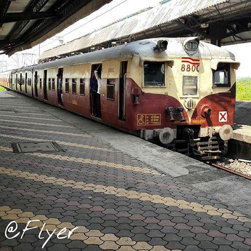 Panvel Navi Instamumbai Railwaystation Train Platform Railways_of_our_world Slow Cst_to_panvel