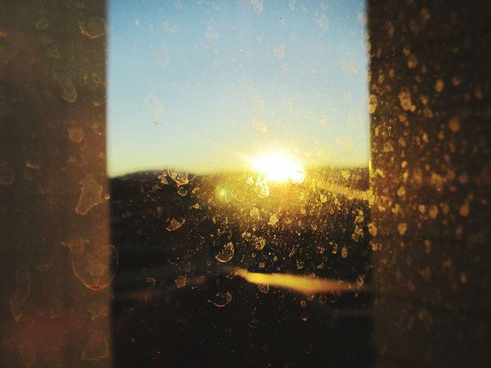 spotty rain drops in las vegas hotel Circus Circus sun rising beautiful holiday 2 weeks ever Landscapes Talking Photots