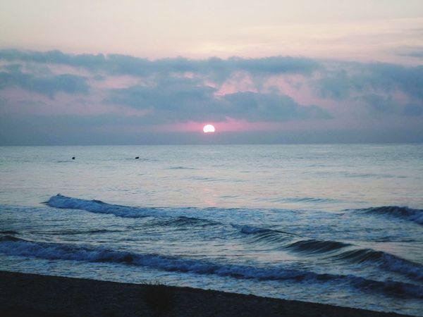 Summer Views Aupair SPAIN Traveller Travelling Student Sunrise Salida De Sol Morning Sky