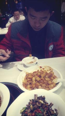 Relaxing 自拍 my boyfriend having dinner.?