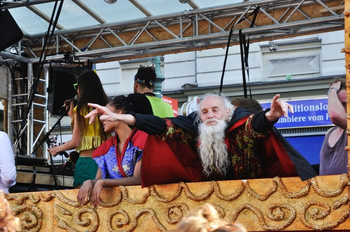 GERMANY🇩🇪DEUTSCHERLAND@ 2013 May Karneval Der Kulturen Karneval People Man Performance Beard Music