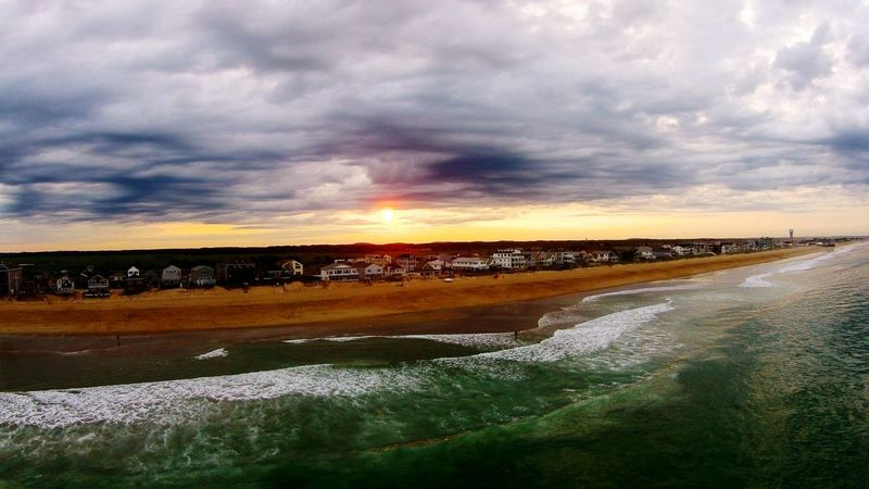 Mybestphoto2014 Sunset Beach Photography Dronephotography Drone  Summer Views Learn & Shoot: Layering