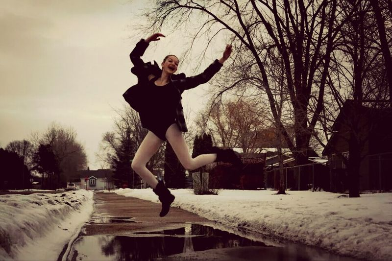 Gotta be fiercely fab! Dancer Dance Jumps Not The Best, But Trying My Best!