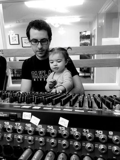 Fatherhood Moments Just Like Daddy #music Lovers