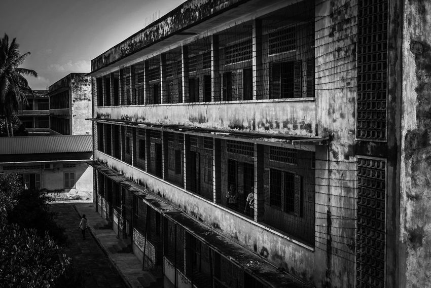S21 Prison Prison Prison Wing Travel Traveller Traveling Travel Photography Torture Place Of Torture CambodiaArchitecture Khmer Rouge Darkness Dark Place Dark Places EyeEmNewHere Let's Go. Together.