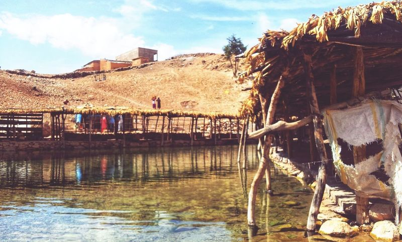 Riverside MoroccoTrip Morocco EyeEm Selects Sky Day Outdoors No People Water Tree Mountain