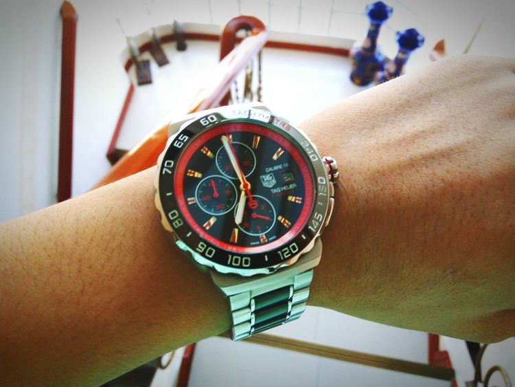 Going out Tagheuer