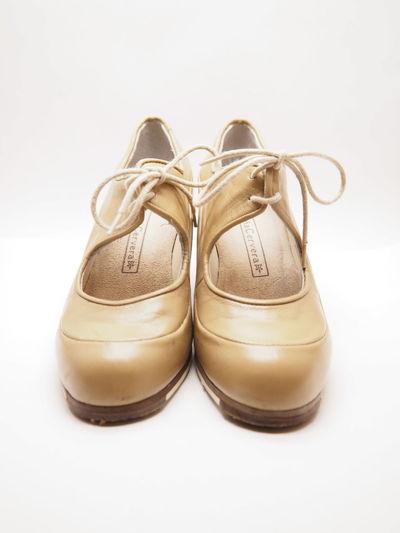 Flamenco Shoes front Dance Flamenco SPAIN Spanish Craftsmanship  Culture Dance Shoes Dancing Shoes Flamenco Shoes Leather No People Shoe Still Life Studio Shot