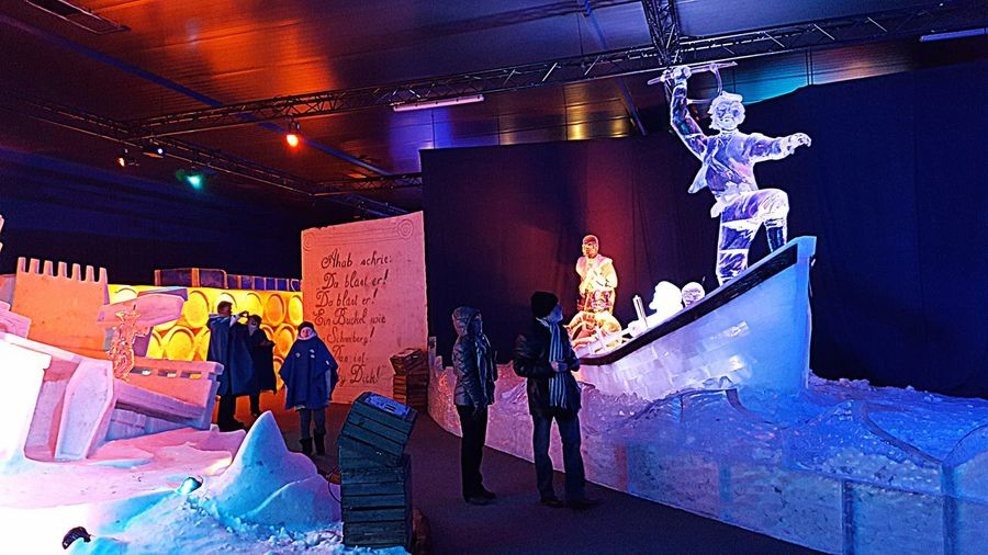 On The Road In The Ice World Of Rostock Taday 2017 Unterwegs In Der Eiswelt Von Rostock--heute 2017