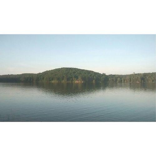 Lake selfie ?? Lake Sunset Photographery Instasize ottawa gatineau summer