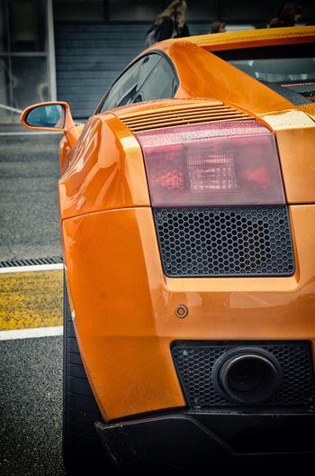 Car Yellow Mode Of Transport Transportation Outdoors Day Close-up No People Lamborghini Gallardo Superleggera Lambo