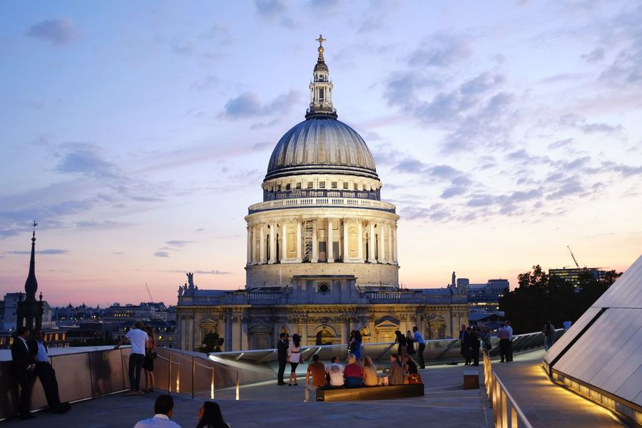 St. Paul's Cathedral Architecture Church Dome International Landmark London Place Of Worship Religion St. Paul's Cathedral Uk United Kingdom