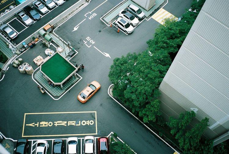 35mm Film Kodak Portra Contax T3 Seoul, Korea Apartment Parking Streetphotography Urbanphotography The Week On EyeEm Editor's Picks