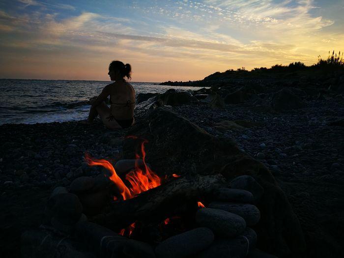 mare e fuoco