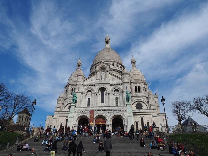 Basilica Basilica De Sacre Coeur France Paris Paris, France  Sacre Coeur Sight Seeing Sightseeing Travel Travel Destinations Travel Photography