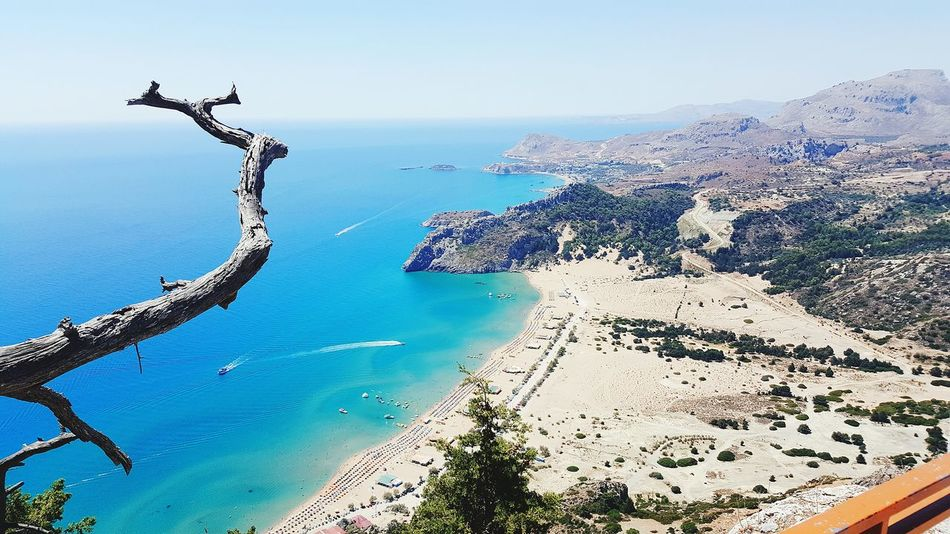 Sea Water Beach Day Horizon Over Water No People Outdoors Sea Life Beauty In Nature Sky Nature Harbor Cityscape Seascape Seaside Travel Destinations Tranquil Scene Rock - Object Scenics Blue Beauty In Nature Nature Tree Sand Greece