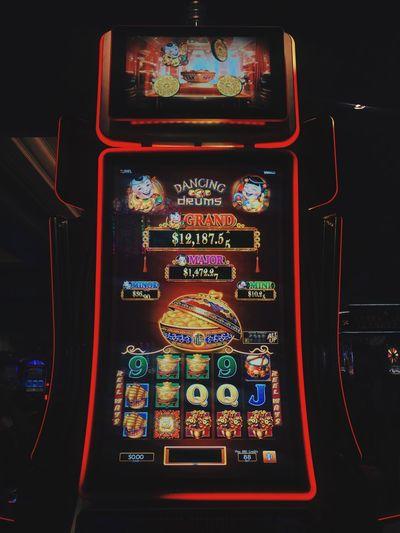 Casino Las Vegas Sin City Gambling Multi Colored Red No People