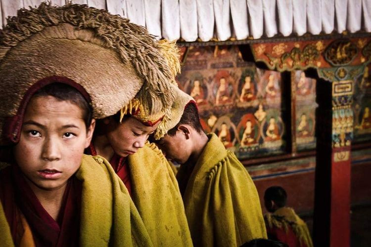 Nepal, The Street Photographer - 2018 EyeEm Awards Men Togetherness Tradition Close-up Spirituality Temple - Building The Traveler - 2018 EyeEm Awards