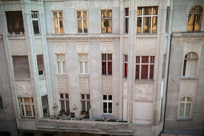 Belvárosi napfelkelte Apartment Architecture Backgrounds Balcony Belváros Building Building Exterior Built Structure City Day Exterior Façade Full Frame Napfelkelte No People Outdoors Repetition Residential Building Residential Structure Side By Side Window Hidden Gems