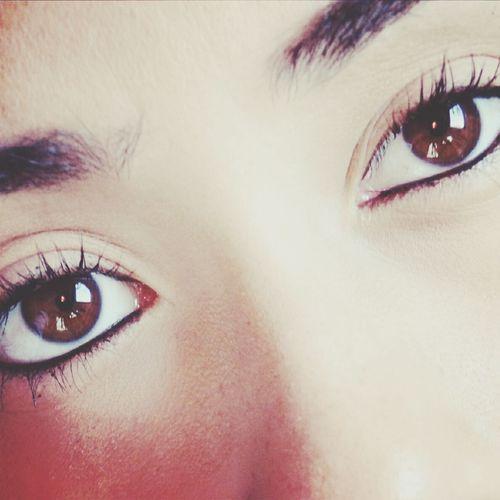 Os olhos reflete a alma
