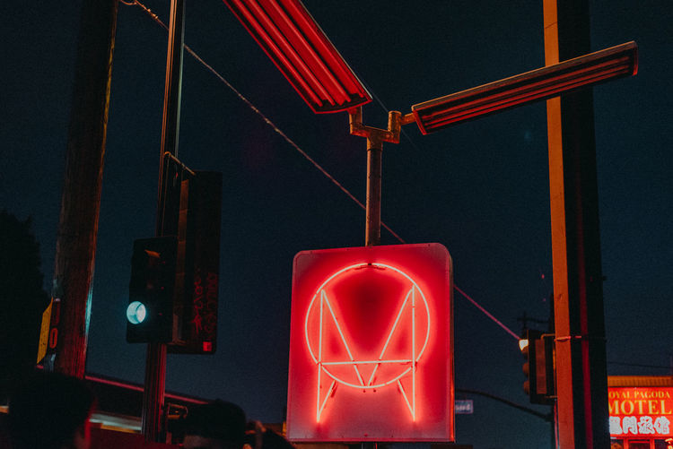 Close-up Communication Glowing Human Representation Illuminated Indoors  Light Light - Natural Phenomenon Lighting Equipment Long Exposure Metal Neon Night No People Owsla Owslaofficial Red Red Light Representation Sign Technology