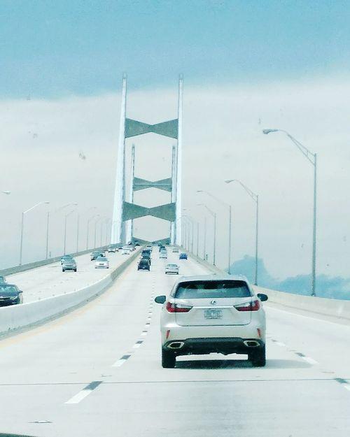 Florida Life Floridaphotographer Florida Sky NewToEyeEm Bridge Over Water Traffic Flow EyeEmNewHere