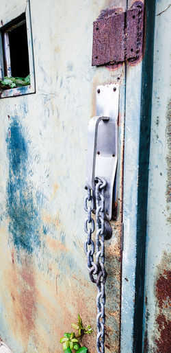 Backgrounds Full Frame Door Close-up Architecture Built Structure Building Exterior Closed Door Weathered Door Handle Bad Condition Entryway Locked Deterioration Civilization Run-down Front Door Painted Worn Out Rusty Closed Peeling Off Peeled Latch Paint