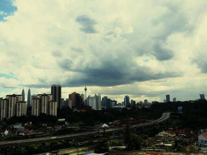 first capture in Malaysia. KLCC view from my condo. First Eyeem Photo
