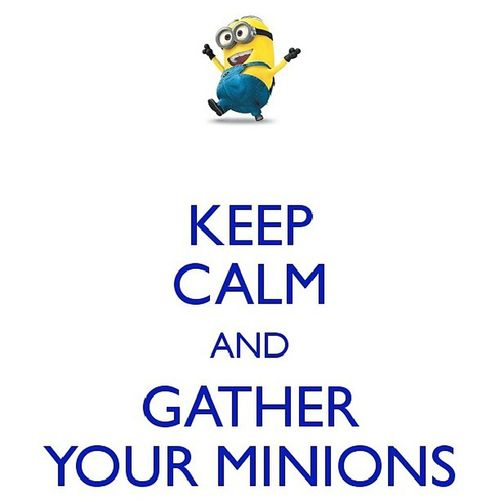 Despicable me!!.. IWant Minions