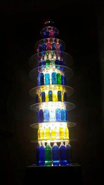 Black Background No People Indoors  Iceland Reykjavik Art Deco Harpa Colourful Bottles Collection