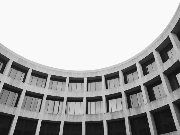 Architecture Circle Blackandwhite Urban Geometry Throw A Curve