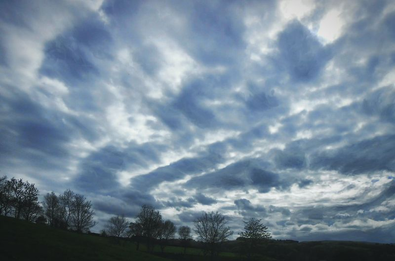 Seeing a Whirpool ... Clouds Sky Fantasy Wales Trees Powys облака