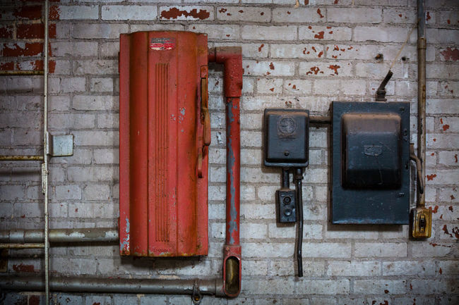 Abandoned factory Abandoned Bad Condition Beauty Of Decay Boxes Cables Closed Composition Deterioration Electric Electricity  Industrial Metal Obsolete Old Old-fashioned Order Peeling Protection Rusty Safety Security Simplicity Wall - Building Feature Weathered Wires