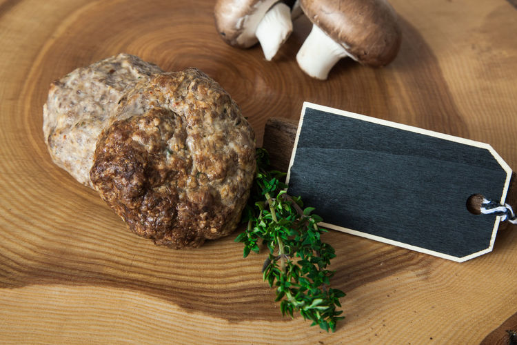 Fresh made meatballs Copy Space Ground Meat Meatballs Snack Blank Space Butcher's Trade Butchery Food Food And Drink Freshness Meat Mince Mincemeat Nutrition Text Space Wooden Background Wooden Plate