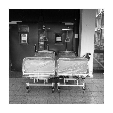 Architecture No People Built Structure Indoors  Window Hospital Bed Waiting Death Krankenhaus Illness Krankenbett