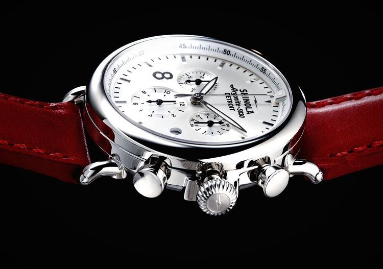Watch Luxury Watches Watches Shinola Detroit Product Photography Red Still Life Macro Macro_collection
