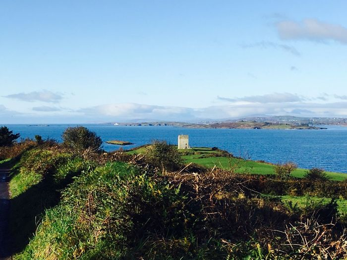 Tiny castle Irish Landscape Blue And Green West Cork, Skibbereen, Ireland Blue Sea Tranquility Countryside Castle Blue Sky Blue Sea And Clear Water Blue Sea Blue Water Blue Water Blue Sky West Cork Ireland