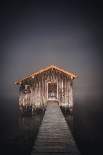 Boathouse In