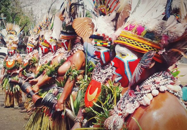 PNG celebrating 41 years of Independence. Melanesia Hello World Papua New Guinea Pacific Islander PnGandProud Cultural Heritage Goroka Show This Is PNG This Is US This Is Me Culture Tradition Traditional Costume Bilas