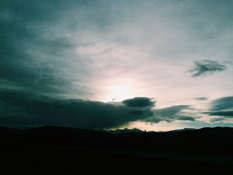 Take a second to think about how blessed you are 🙏 Blessed  Roadtrip Utah Sky