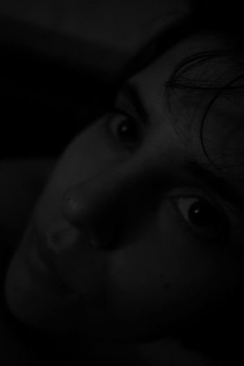Blackandwhite Woman Photography Model Portrait Portrait Of A Woman Expression Androgynymodel Facial Expression Nude_model Sadness Artificial Light Melancholy Light And Shadow Detailphotography Darkness Dark Photography