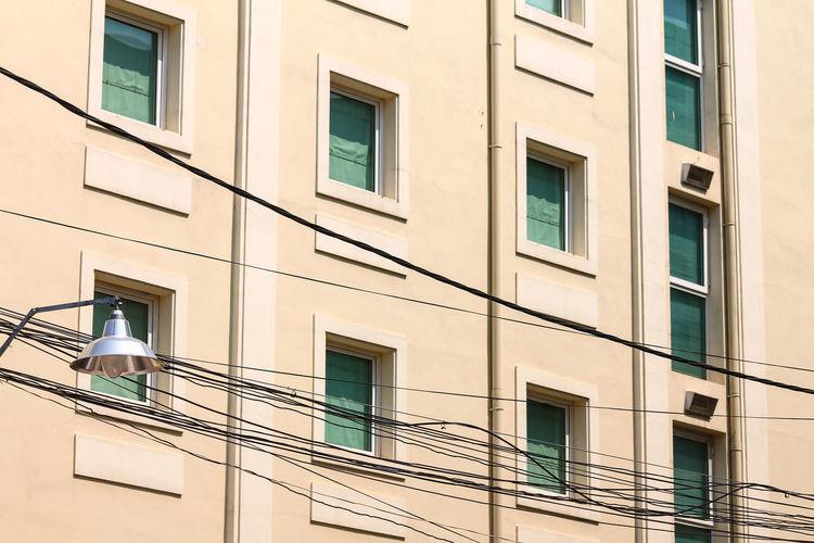 building windows Building Windows Minimalism Square Geometric Shape Architecture Lines No People City Window Façade Sunlight Apartment Architecture Building Exterior Built Structure