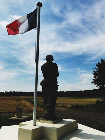 Ww1 monument du bois des loges France Memorial Patriotism Picardie Oise  Sculpture Nature