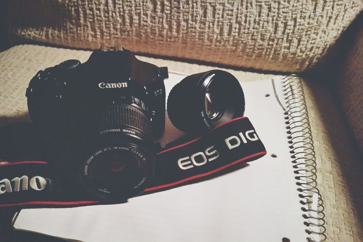 My old Canon 550D it's really good