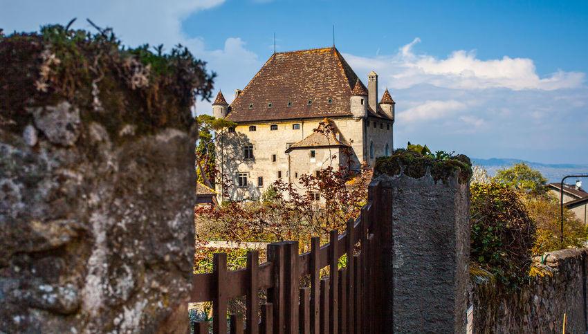 Castle Yvoire, France Architecture Architecture Building Built Structure Castle Cloud - Sky France Geneva Heritage Lake Medieval Old Sky Stone Yvoire